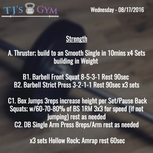 Strength - 08-17-2016