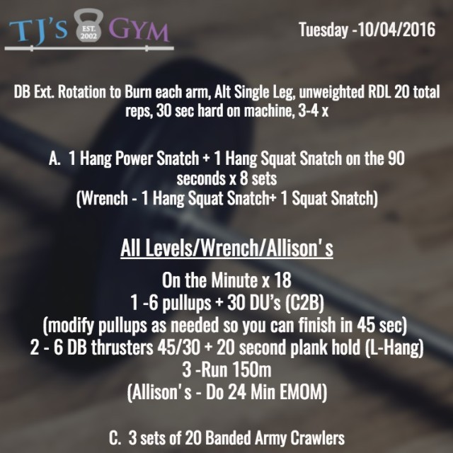 tuesday-10-04-2016