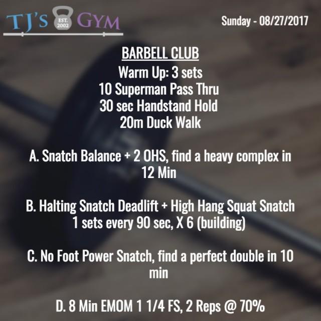 Sunday 08-27-2017 Barbell.jpg